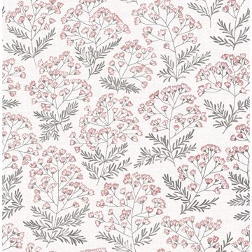 Picture of Floret Pink Flora Wallpaper