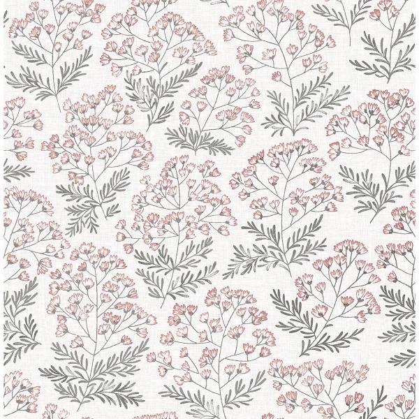 Picture of Floret Pink Flora Wallpaper