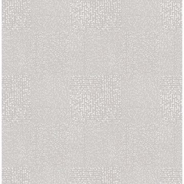 Picture of Zenith Grey Abstract Geometric Wallpaper