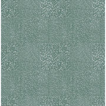 Picture of Zenith Green Abstract Geometric Wallpaper