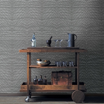 Picture of Aperion Taupe Chevron Wallpaper