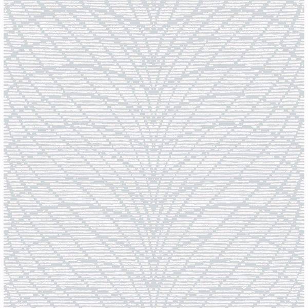 Picture of Aperion Light Grey Chevron Wallpaper