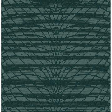 Picture of Aperion Dark Green Chevron Wallpaper