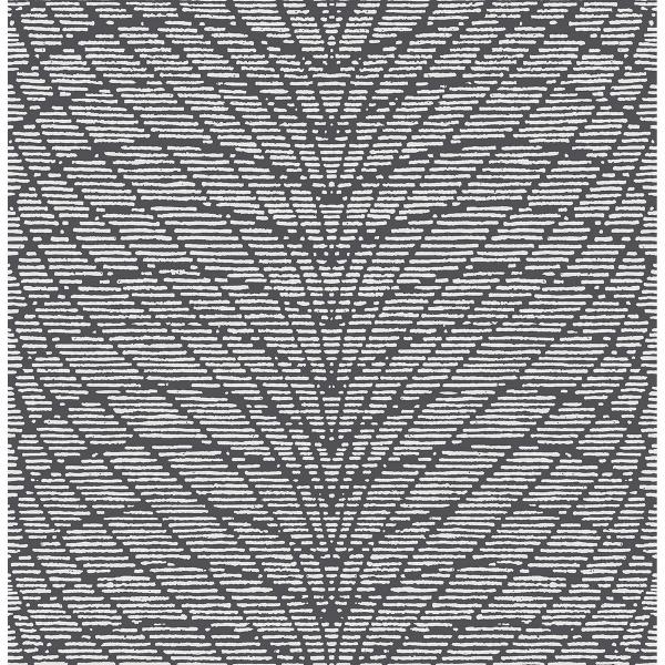 Picture of Aperion Dark Brown Chevron Wallpaper