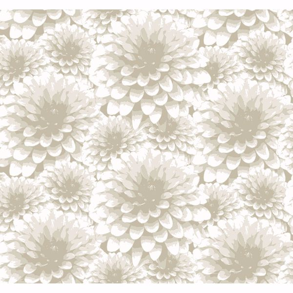 Picture of Umbra Beige Floral Wallpaper