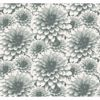 Picture of Umbra Teal Floral Wallpaper