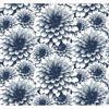Picture of Umbra Indigo Floral Wallpaper