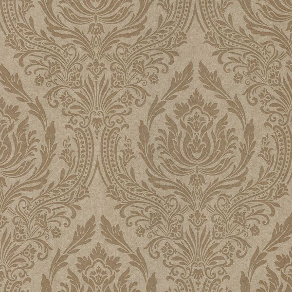 Picture of Pastiche Gold Damask Wallpaper