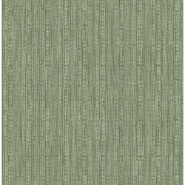 Picture of Chiniile Green Linen Texture Wallpaper