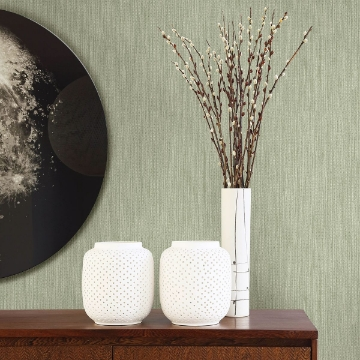 Picture of Chiniile Sage Linen Texture Wallpaper