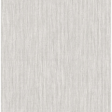 Picture of Chiniile Grey Linen Texture Wallpaper