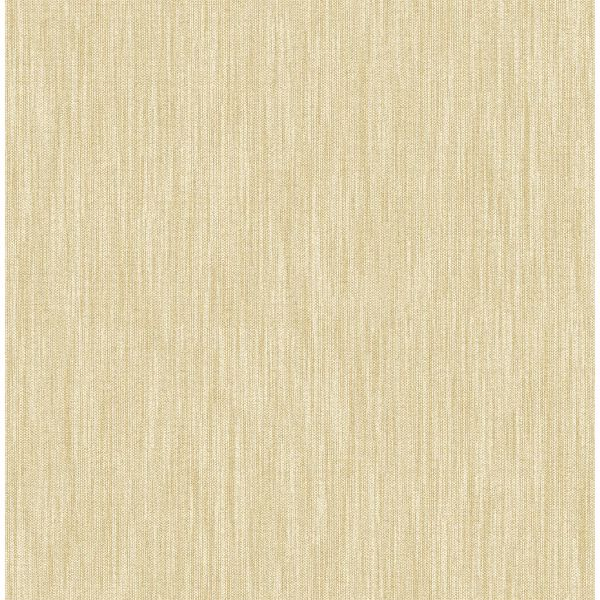 Picture of Chiniile Wheat Linen Texture Wallpaper