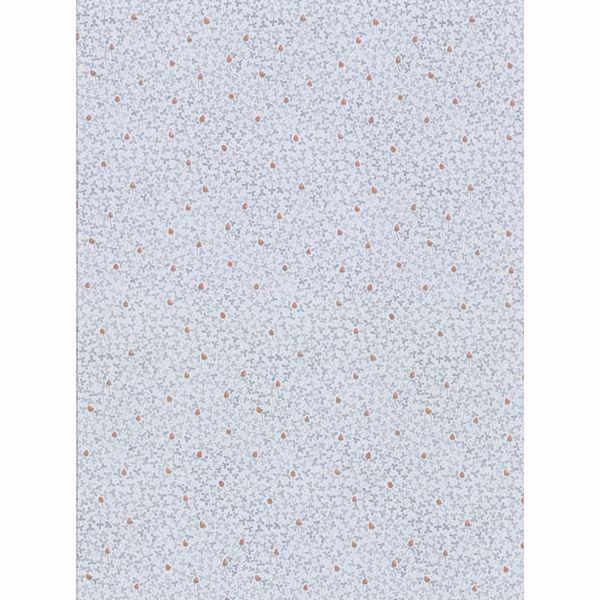 Picture of Lark Light Blue Botanical Wallpaper