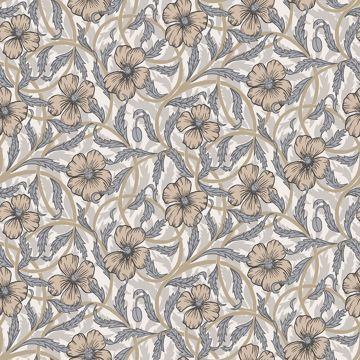 Picture of Imogen Neutral Floral Wallpaper