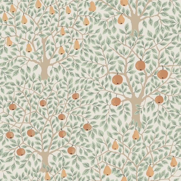 Picture of Pomona Multicolor Fruit Tree Wallpaper