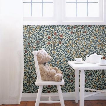 Picture of Pomona Blue Fruit Tree Wallpaper