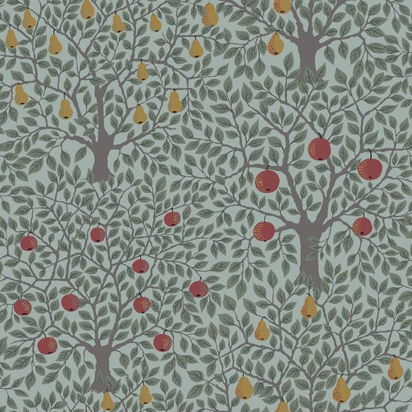 Picture of Pomona Green Fruit Tree Wallpaper