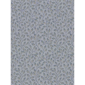Picture of Posey Slate Vines Wallpaper