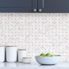 Picture of Bianco Carrara Tile Peel and Stick Backsplash