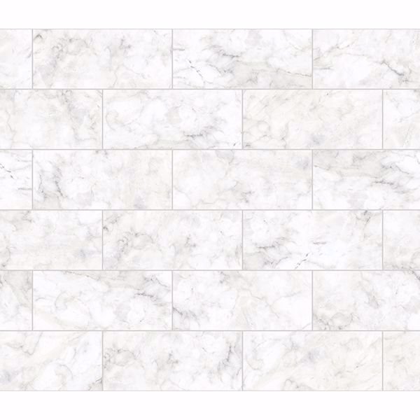 Picture of Marble Tile Peel and Stick Backsplash