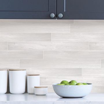 Picture of Timber Tile Peel and Stick Backsplash