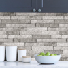 Picture of Grey Stone Peel and Stick Backsplash