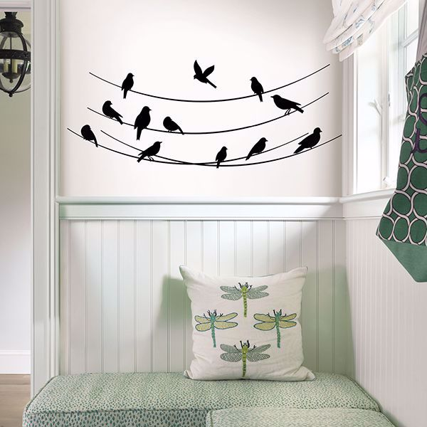 Picture of Tweet Tweet Wall Art Kit