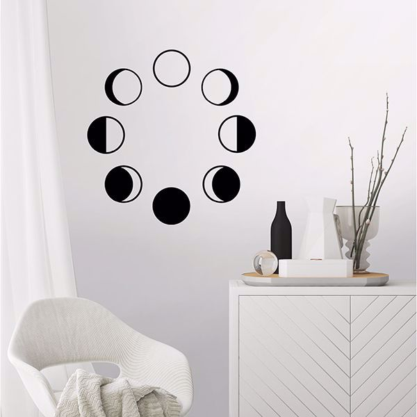 Picture of Moon Phase Wall Art Kit