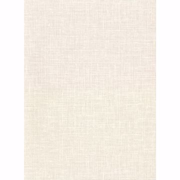 Picture of Upton Cream Faux Linen Wallpaper