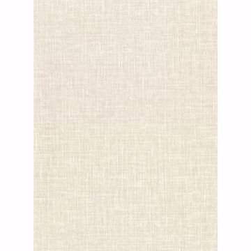 Picture of Upton Eggshell Faux Linen Wallpaper