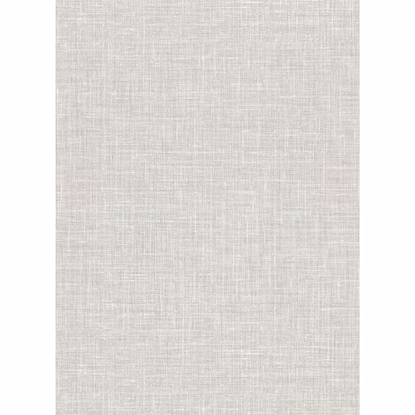 Picture of Upton Light Grey Faux Linen Wallpaper