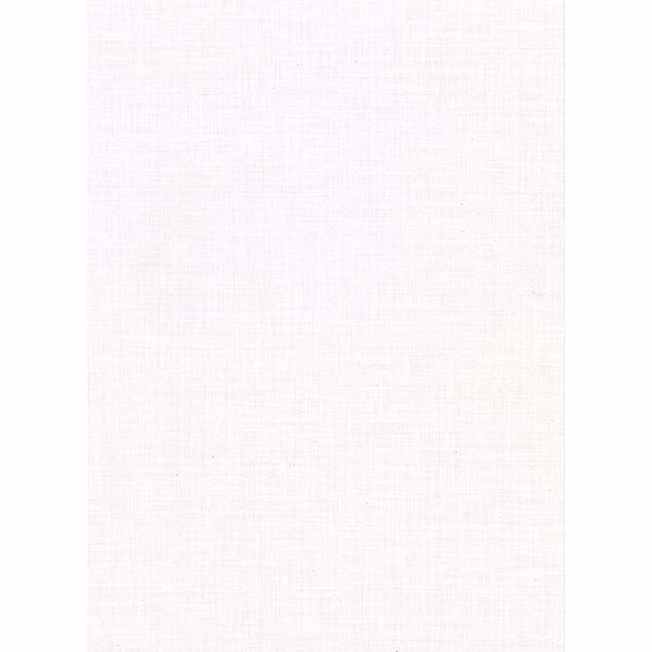Picture of Upton White Faux Linen Wallpaper