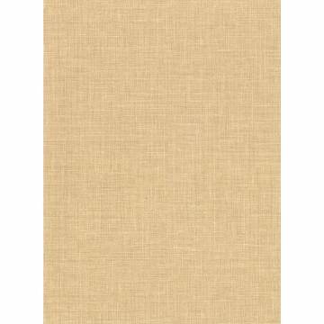 Picture of Upton Wheat Faux Linen Wallpaper