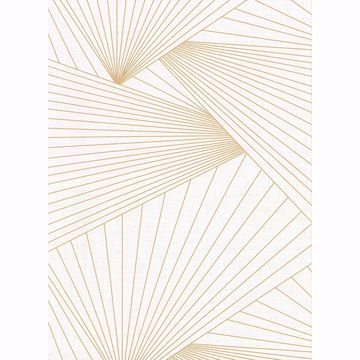 Picture of Berkeley Off-White Geometric Faux Linen Wallpaper