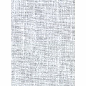 Picture of Clarendon Sky Blue Geometric Faux Grasscloth Wallpaper
