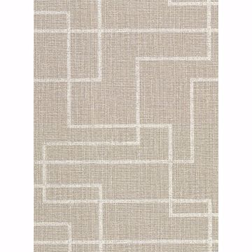 Picture of Clarendon Brown Faux Grasscloth Wallpaper