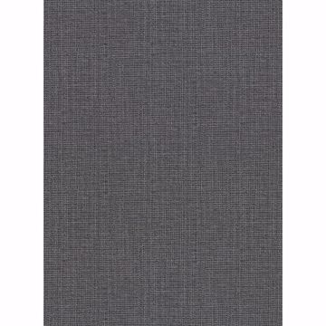 Picture of Claremont Charcoal Faux Grasscloth Wallpaper