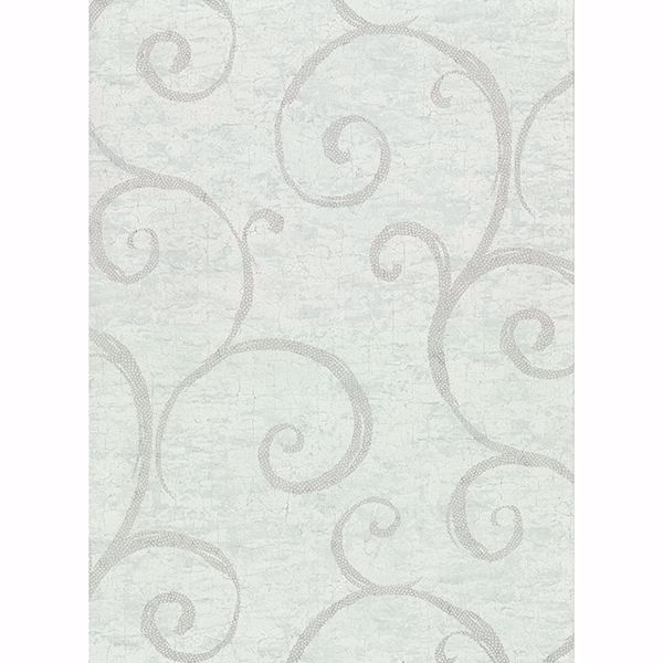 Picture of Newbury Teal Geometric Faux Plaster Wallpaper
