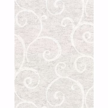 Picture of Newbury Light Grey Geometric Faux Plaster Wallpaper