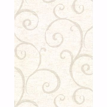 Picture of Newbury Cream Geometric Faux Plaster Wallpaper