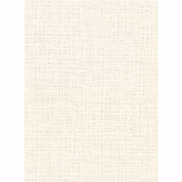 Picture of Montgomery Off-White Distressed Faux Linen Wallpaper