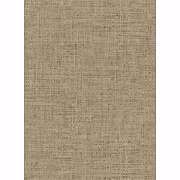 Picture of Montgomery Brass Faux Grasscloth Wallpaper