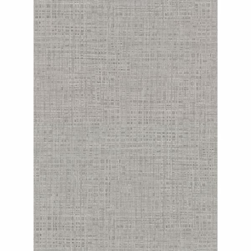 Picture of Montgomery Pewter Faux Grasscloth Wallpaper