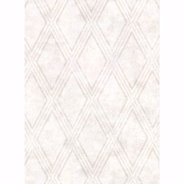 Picture of Dartmouth Cream Faux Plaster Geometric Wallpaper
