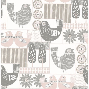 Picture of Spring Chickens Peel and Stick Wallpaper