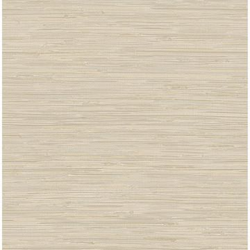 Picture of Tibetan Grasscloth Cream Peel and Stick Wallpaper
