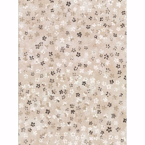 Picture of Cosima Beige Miniature Floral Wallpaper