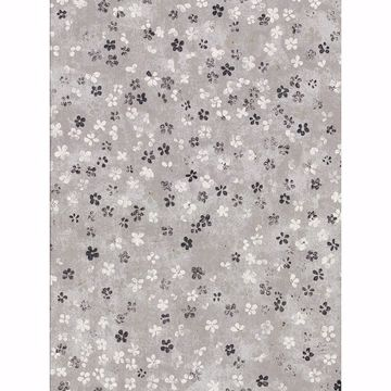 Picture of Cosima Grey Miniature Floral Wallpaper
