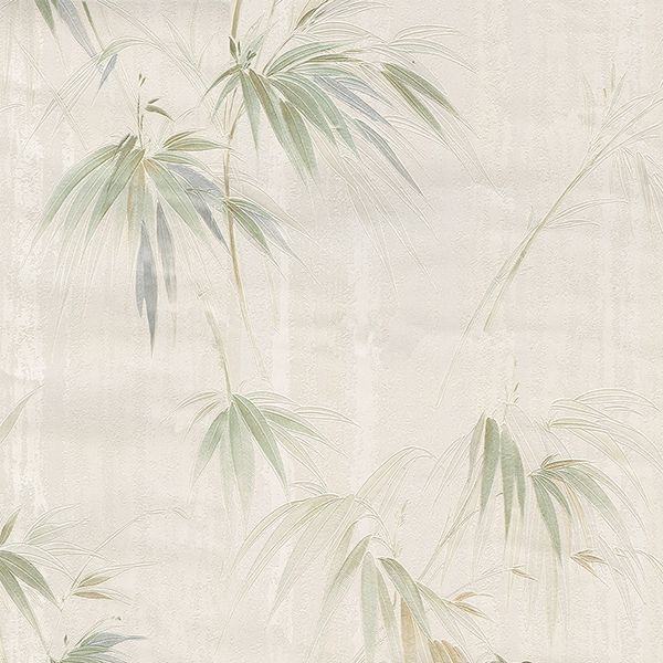 Picture of Atlis Neutral Bamboo Wallpaper