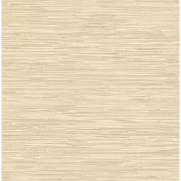 Picture of Natalie Wheat Weave Texture Wallpaper